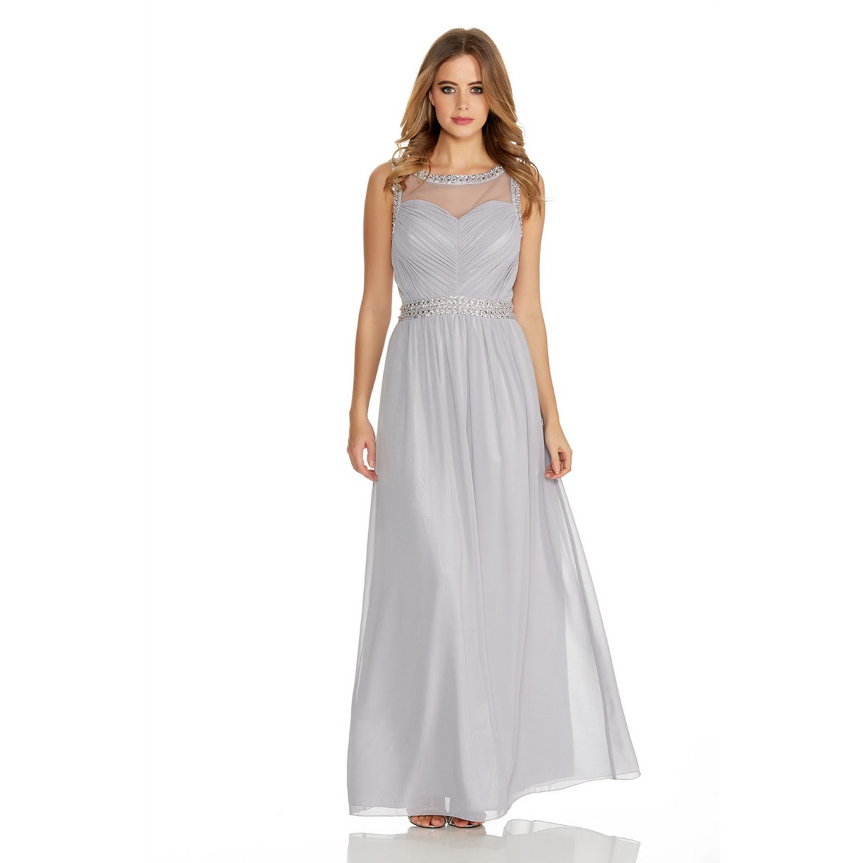 Grey Maxi Dress Quiz