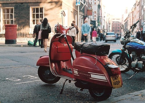 Red Rally  by Vespamore !