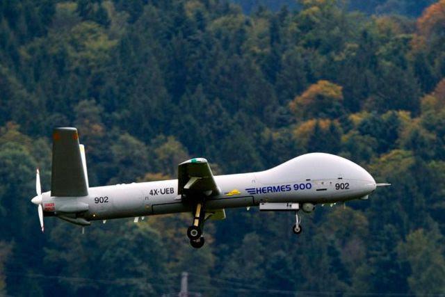 Le Conseil fédéral veut acquérir des drones israéliens, du type Hermes 900.