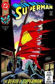 The Death Of Superman Comic Book Value 1992