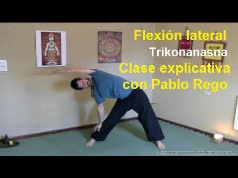 Video: Flexión lateral - Trikonasana
