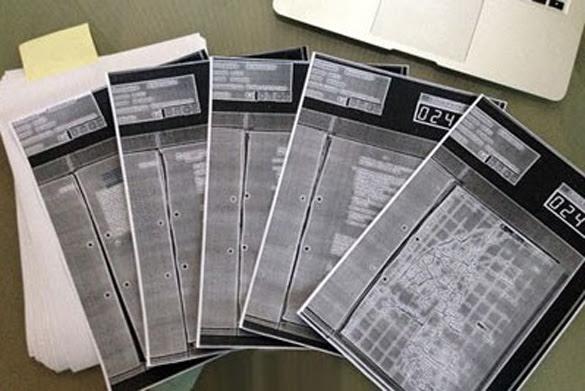 The Puttgarden-Case alone covers 5 pages with the BND-UFO-Files. | Copyright: Bundesarchiv.de (Credit: grenzwissenschaft-aktuell.de)