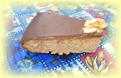TORTA DE CHOCOLATE Y NUECES