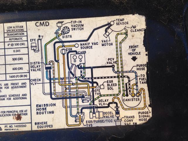 Vacuum Hose Routing Diagram The 1947 Present Chevrolet Gmc Truck Message Board Network