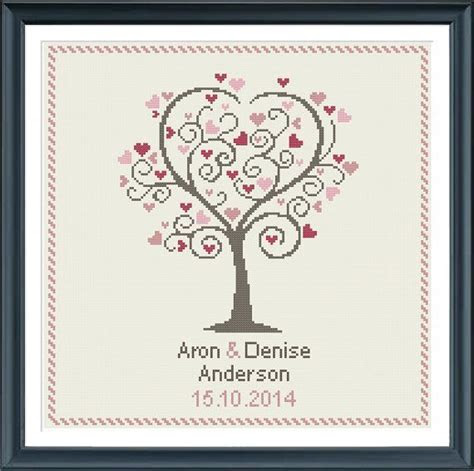 Best 25  Wedding cross stitch ideas on Pinterest   Cross
