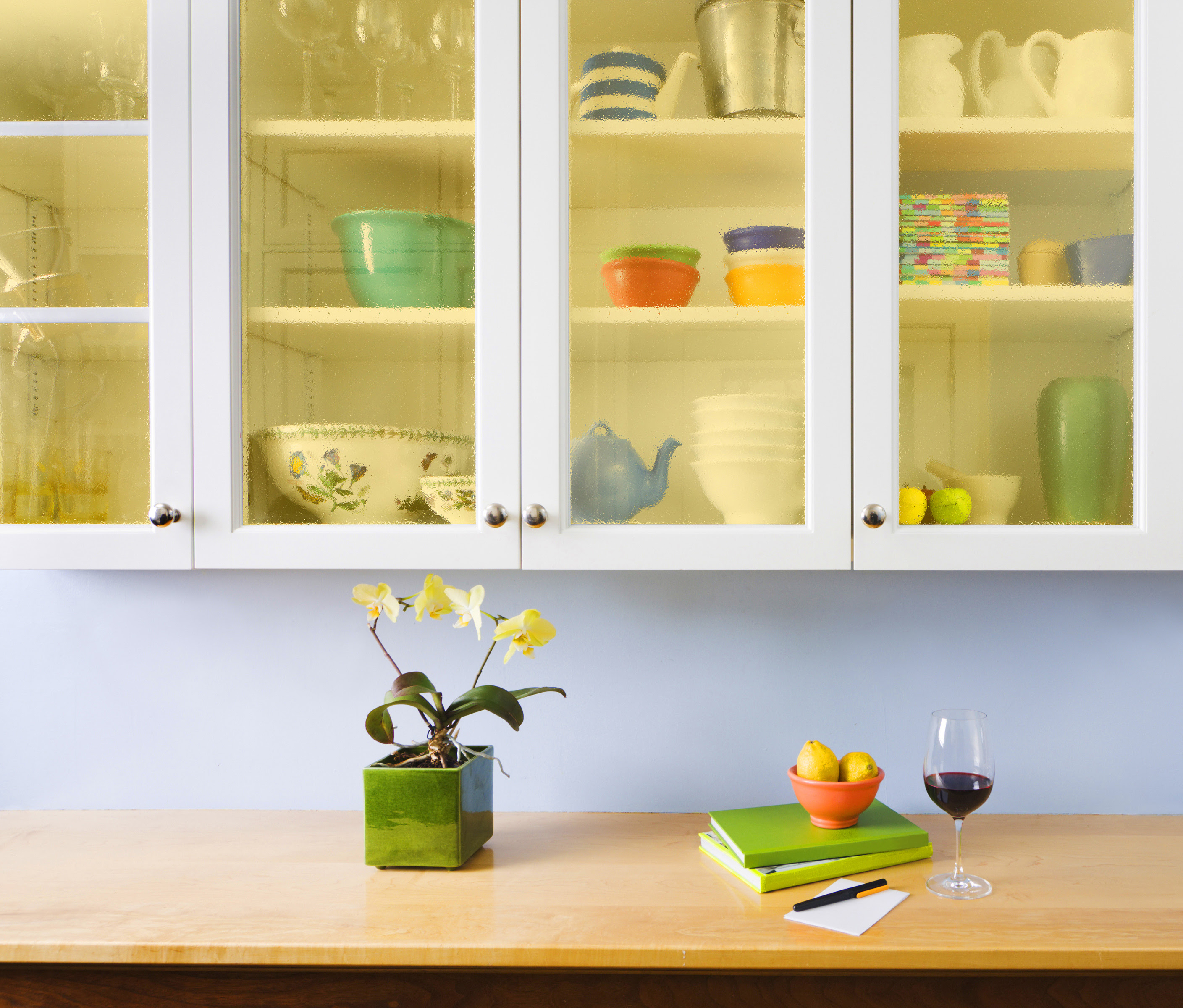 Do-It-Yourself Kitchen Cabinets Makeover: How to Install ...
