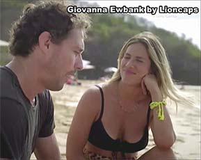 Giovanna Ewbank sensual no programa no paraiso com Gio Ewbank