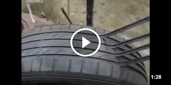 Tire Repair Shock You Bought A Second Hand Car With New Tires This Is How They Repair Them