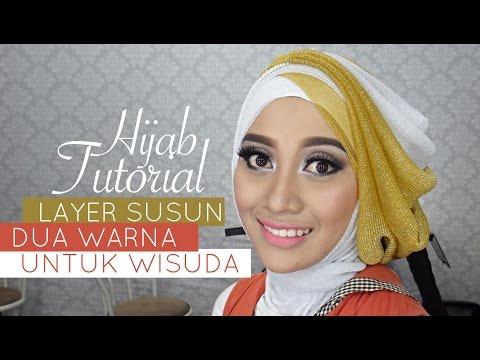 VIDEO : tutorial hijab pesta atau wisuda | style hijab layer 2 warna | # 1 - stylestyletutorial hijabpraktis dan mudah untuk dipraktekkan ke orang lain menggunakan bahanstylestyletutorial hijabpraktis dan mudah untuk dipraktekkan ke orang ...