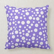 Polka Dot Madness Mojo pillow throwpillow