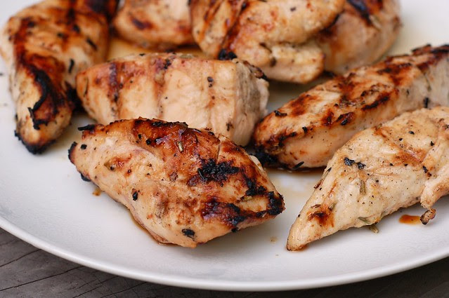 Easiest Grilled Chicken by Eve Fox, the Garden of Eating blog, copyright 2013