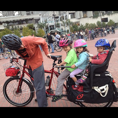 Ready to ride! #sfcm20 #kiddicalmass