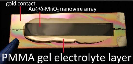 Bateria de nanofios dura 200 vezes mais