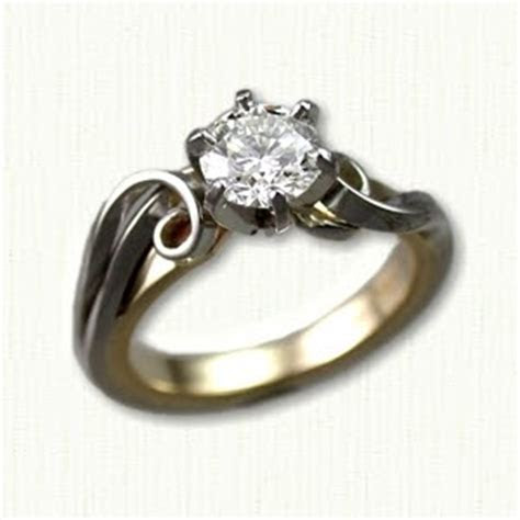Custom Engagement Rings Popular Today
