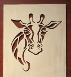 giraffe scroll saw pattern