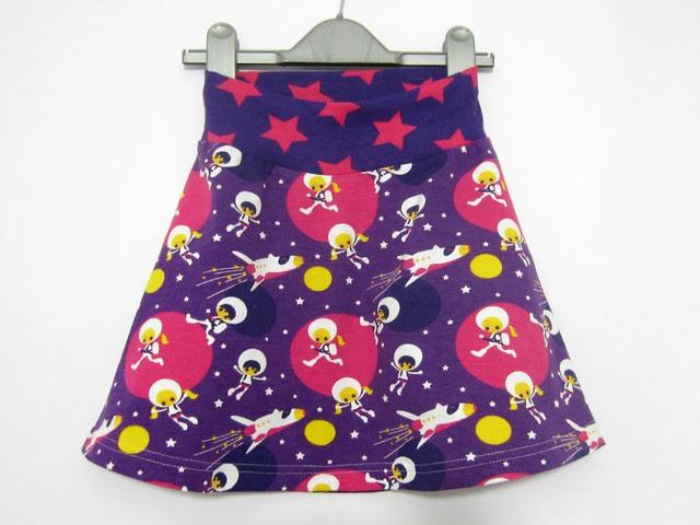 purple astro skirt