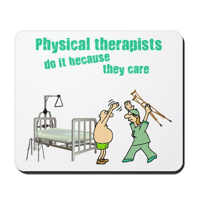 Female Physical Therapist Mousepad by scott64
