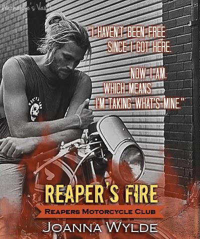 Reaper's Fire (Reapers MC #6) by Joanna Wylde