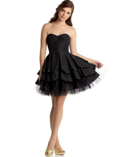 Short Black Prom Dresses1