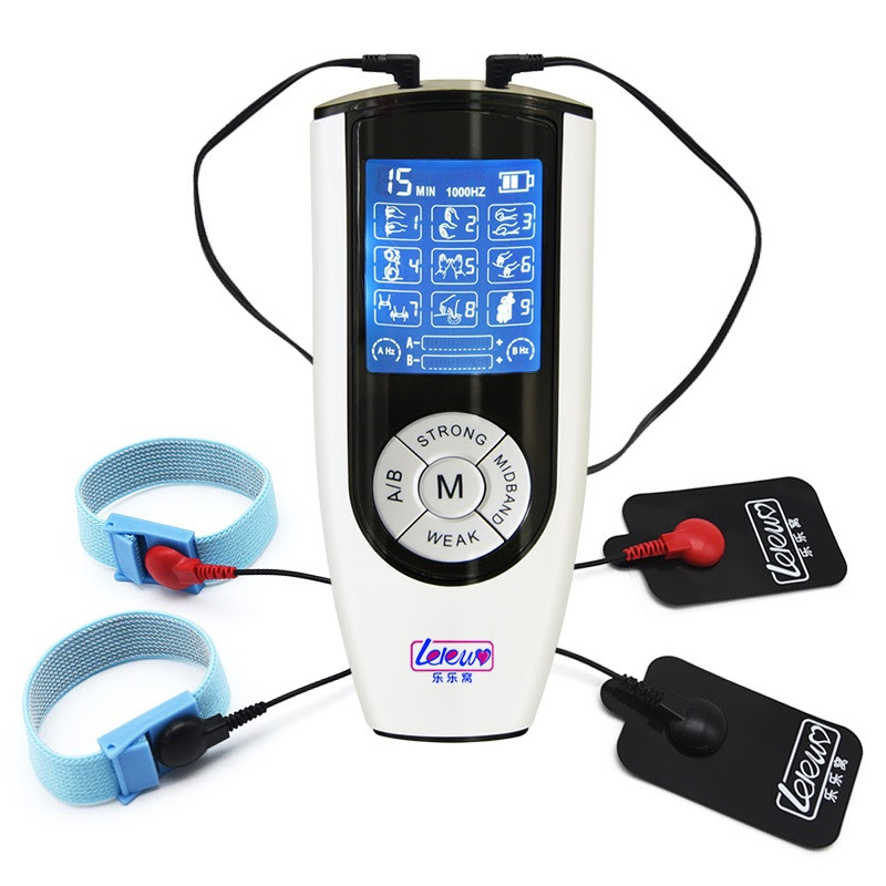 Cheap  Electric Shock Accessory Stimulation Penis Rings Time Delay Cock Ring Electro Medical Themed Sex To