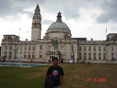 Cardiff City Hall, Cardiff, Wales