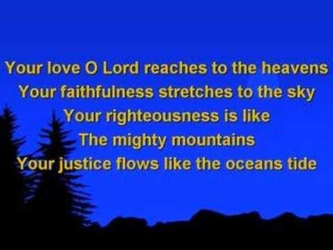 Your Love Oh Lord Lyrics