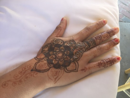 Henna Tattoos At Walt Disney World