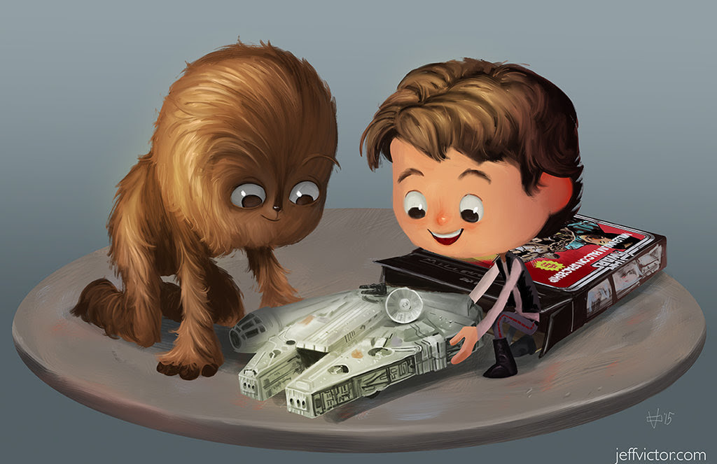 The Magic of Star Wars Toys Created by Jeff Victor