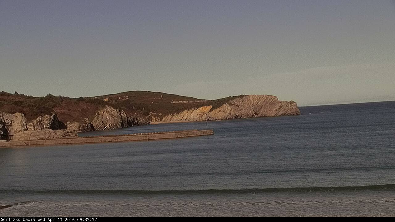 Webcam de la playa de Gorliz