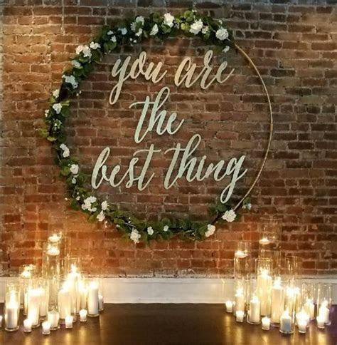20 Best of Wedding Backdrop Ideas from Pinterest   Deer