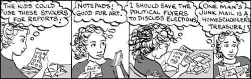 Home Spun comic strip #248
