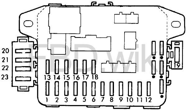 88 91 Honda Civic Cr X Fuse Box Diagram