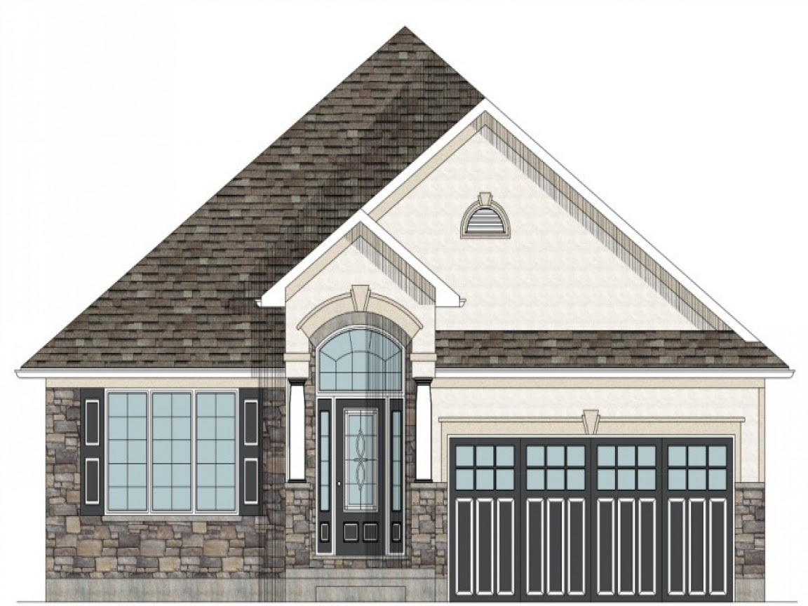 Bungalow House  Plans  Canada Simple  Small House  Floor Plans