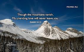 Through The Mountains Vanishmy Unending Love Will Never Leave You