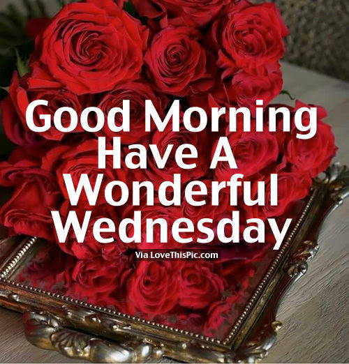 Good Morning Have A Wonderful Wednesday Pictures Photos And