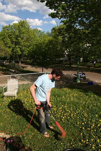 Jake, Weed Whacker