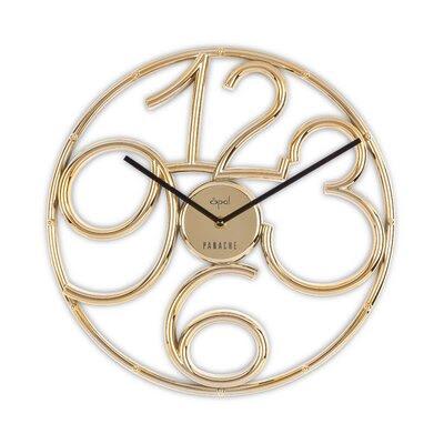 Silver Opal Clock | Wayfair