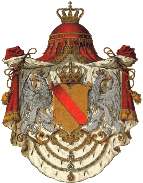 Archivo:Wappen Deutsches Reich - Grossherzogtum Baden.png