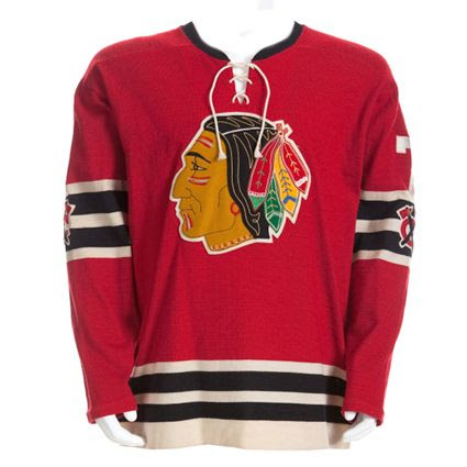 Chicago Black Hawks 58-59 jersey