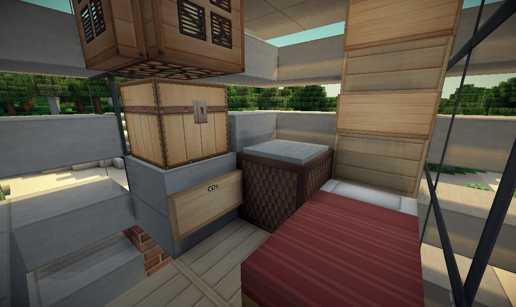 5x5 House 3 Minecraft Project