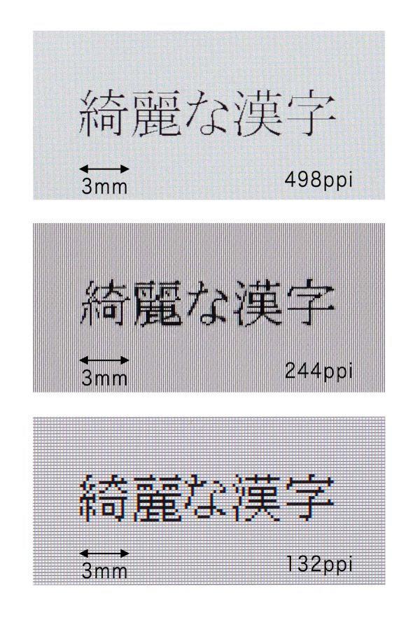 Comparando a densidade da tela do Oppo Find 5 e seus 498 ppi (Foto: Reprodução)