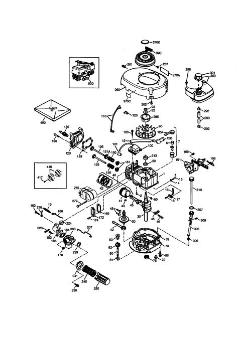 CRAFTSMAN ENGINE Parts | Model 143994508 | Sears PartsDirect