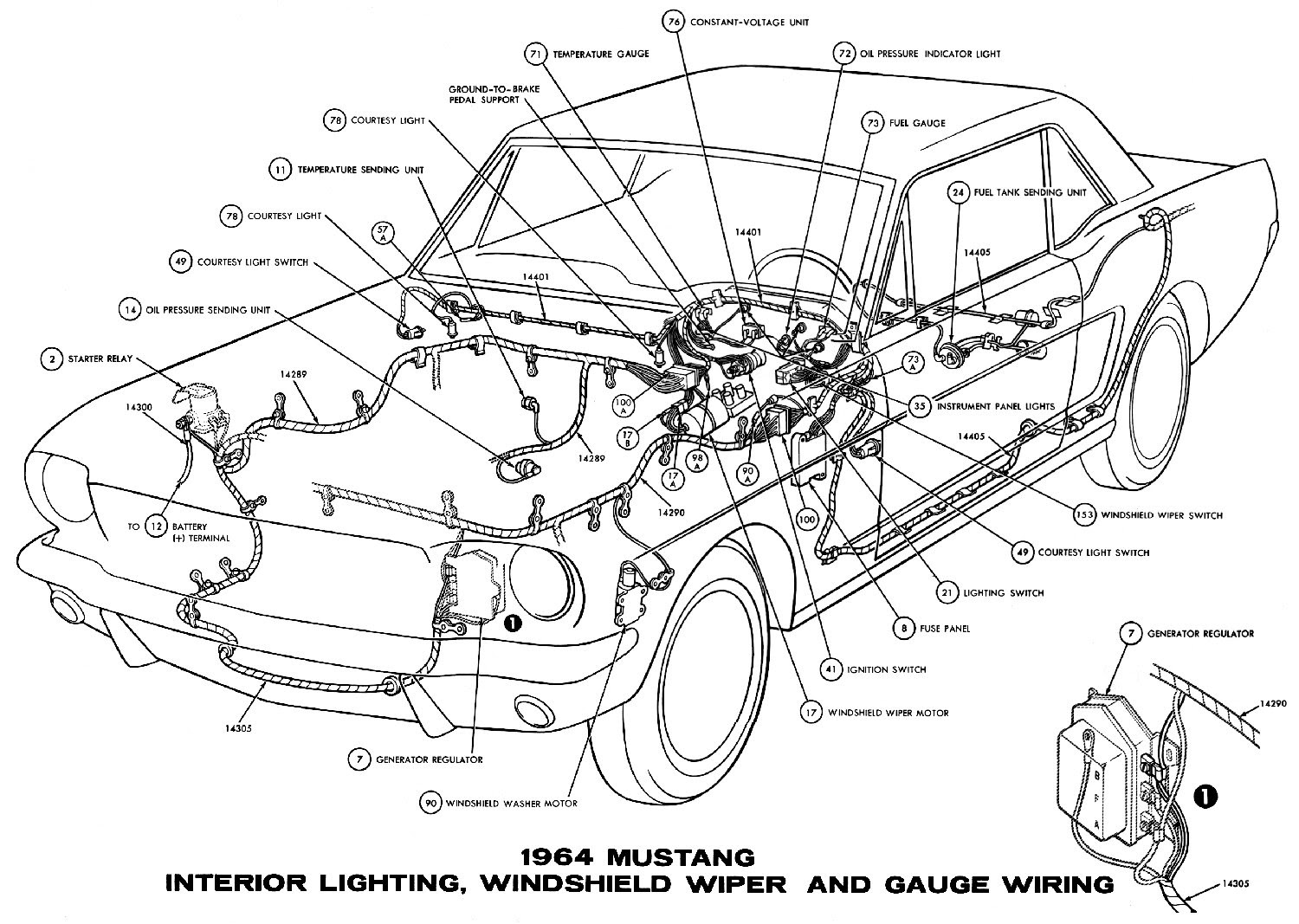 1968 Mustang Starter Relay Diagram Wiring Schematic Wiring Diagram Local A Local A Maceratadoc It