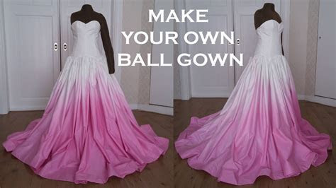 DIY Prom/Wedding Ball Gown Dress (Sew Along)   YouTube