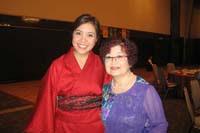 With Akiko Suehiro, director of Kobe Jazz Street