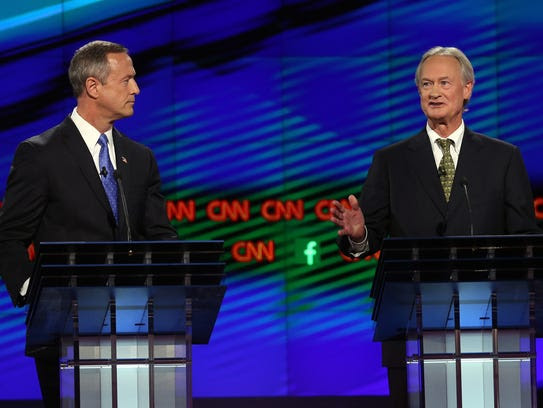 First Democratic presidential debate: O'Malley's Mangled Wage Statistic — Again