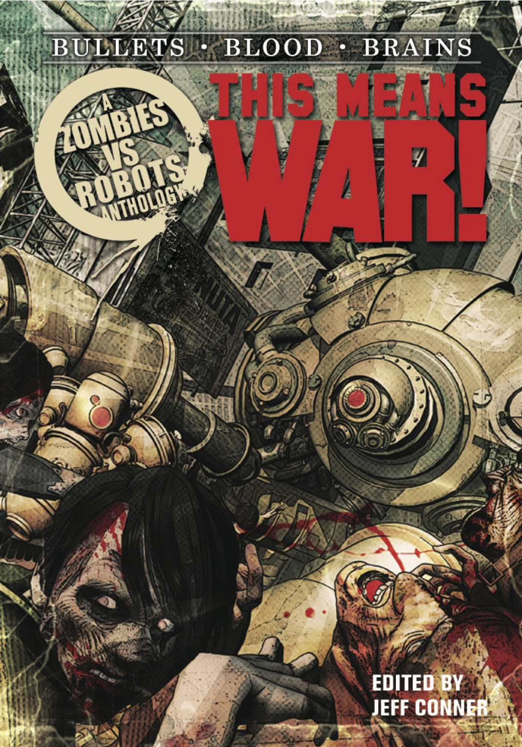 [Zombies vs Robots This Means War Image]