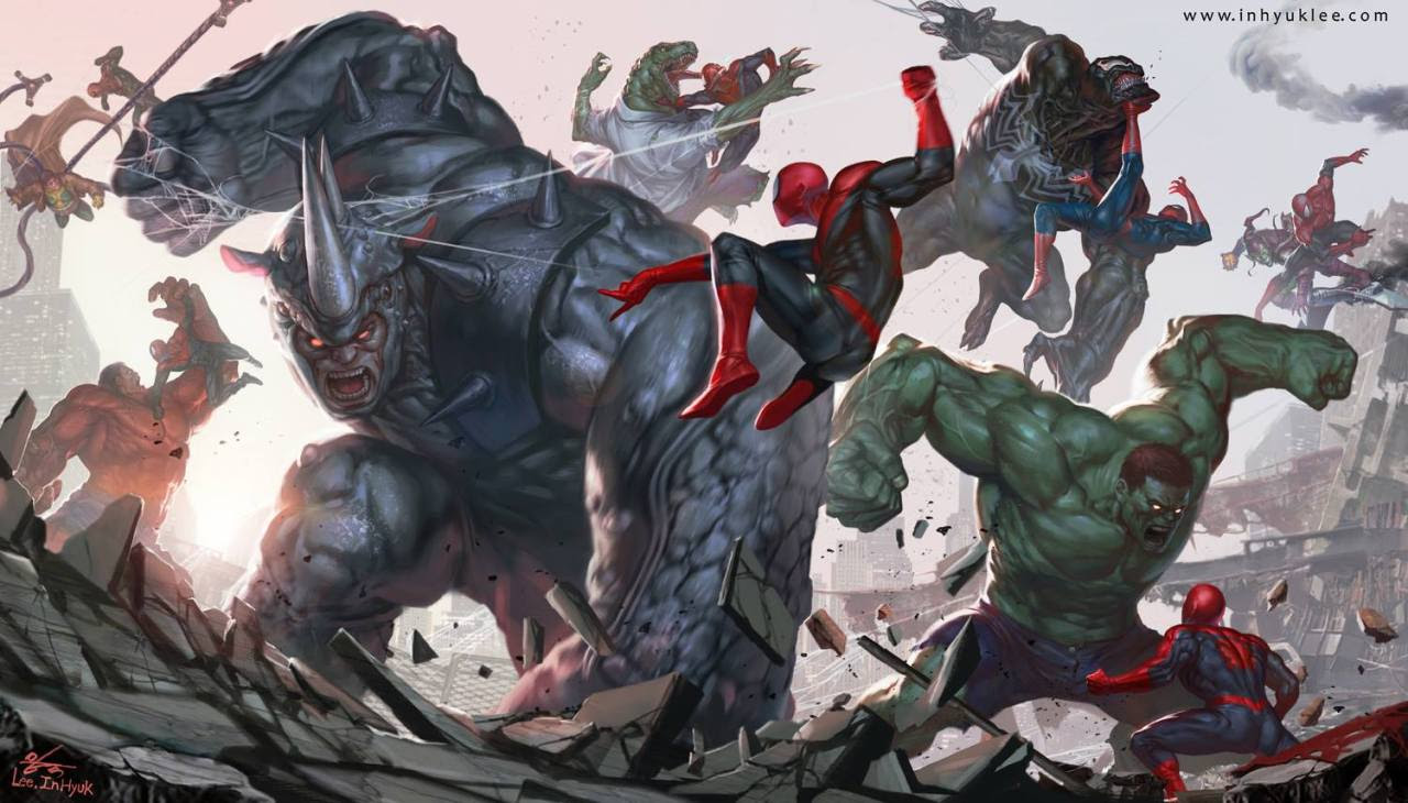 Spider Wars by In-Hyuk Lee
