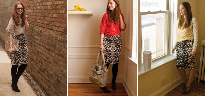 july outfit, leopard pencil skirt outfits, animal print outfit ideas, office style, business casual