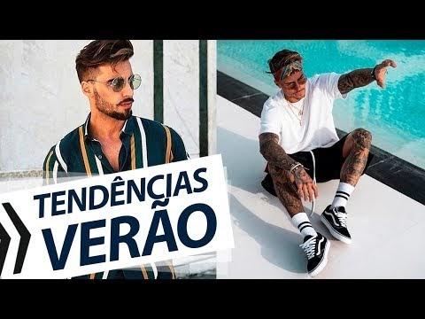 Tem Na Web - TENDÊNCIAS MASCULINAS pro VERÃO 2019 - Moda Masculina Verão 2019